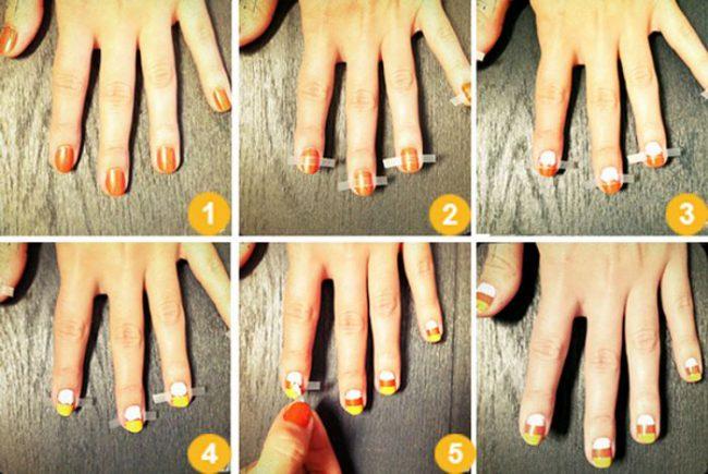 Маникюр в домашних условиях на короткие ногти поэтапно с фото